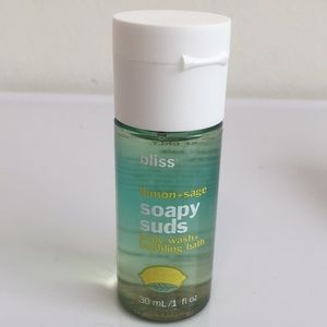 Bliss Makeup - NEW! BLISS Lemon + Sage 6 Piece Travel Bath Set